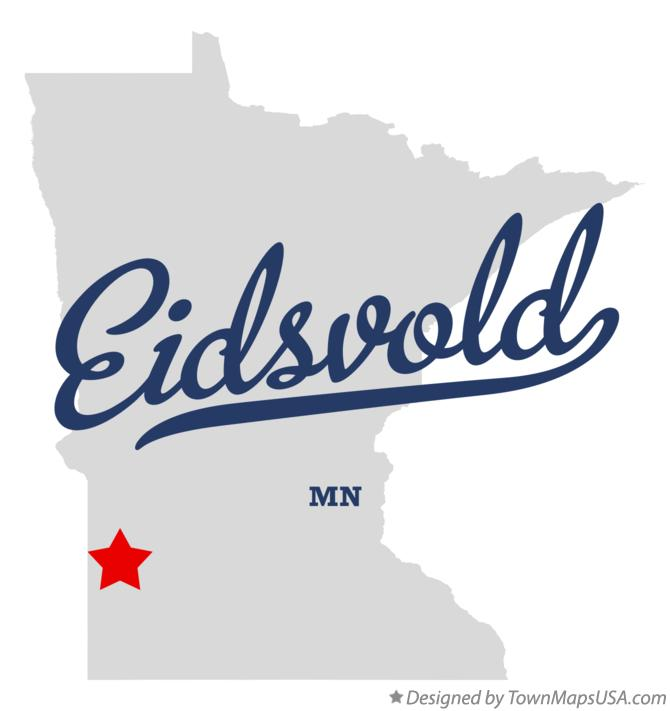 Map of Eidsvold Minnesota MN