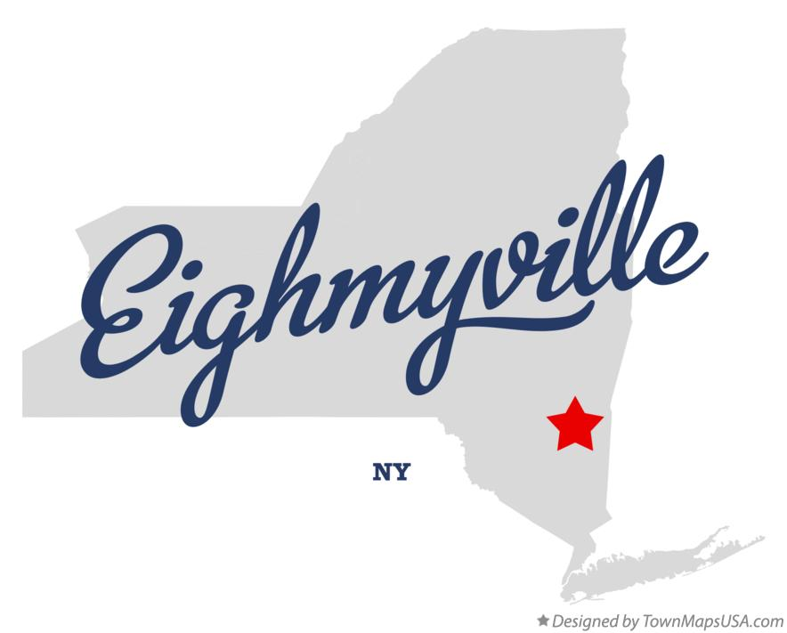 Map of Eighmyville New York NY