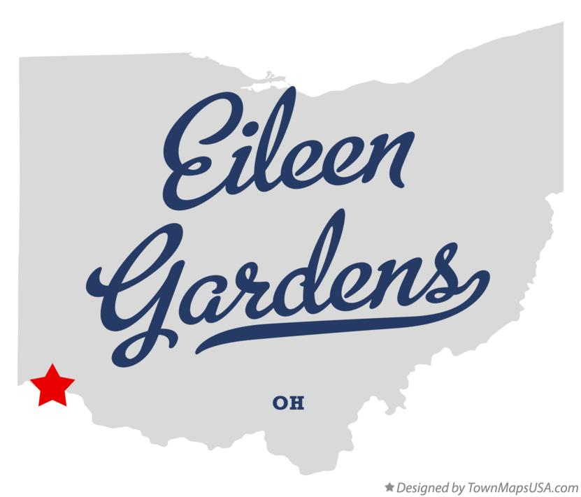 Map of Eileen Gardens Ohio OH