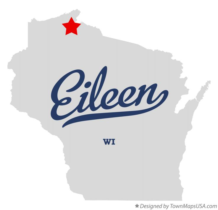 Map of Eileen Wisconsin WI