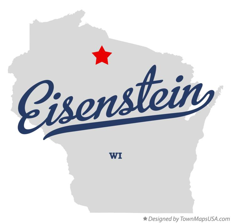 Map of Eisenstein Wisconsin WI