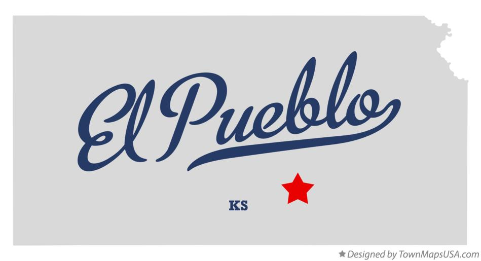 Map of El Pueblo Kansas KS