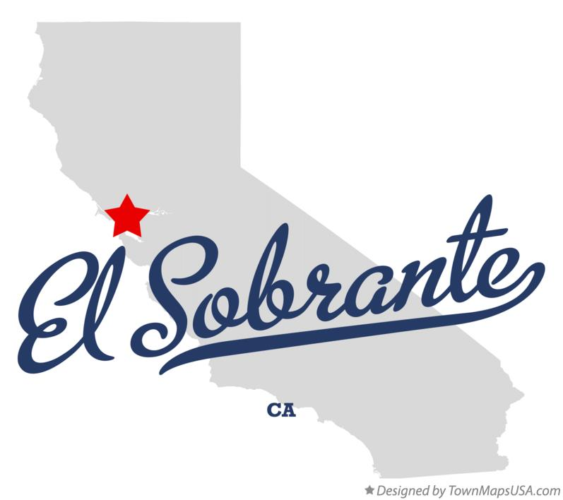 Map of El Sobrante California CA