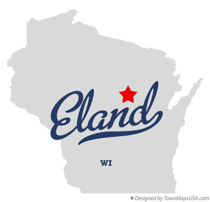 Map of Eland Wisconsin WI