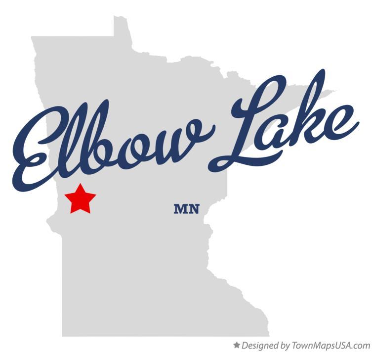 elbow lake mn map Map Of Elbow Lake Grant County Mn Minnesota elbow lake mn map