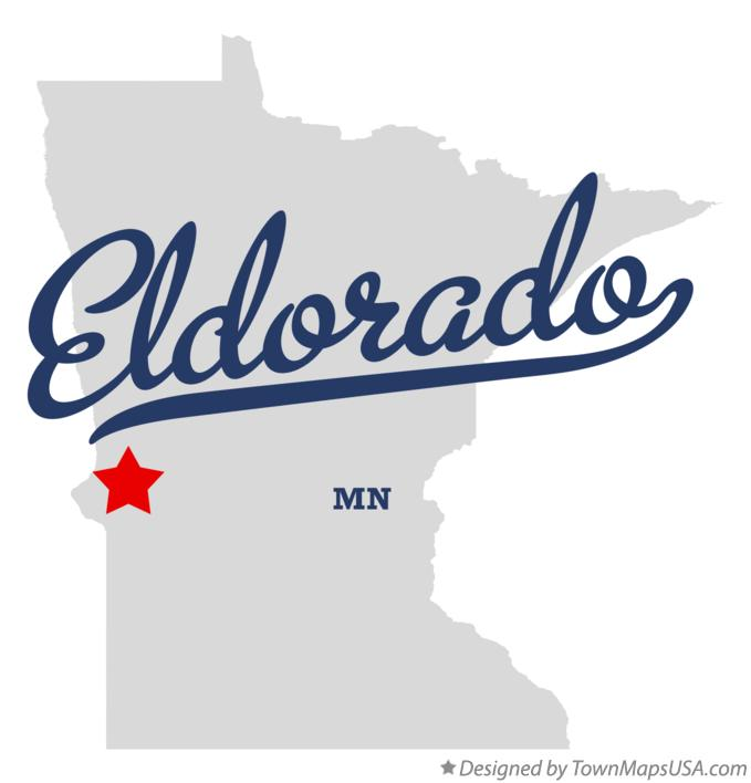 Map of Eldorado Minnesota MN