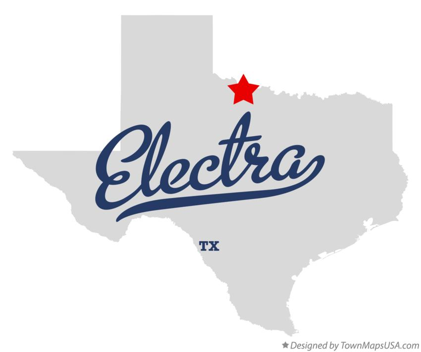 Map of Electra Texas TX