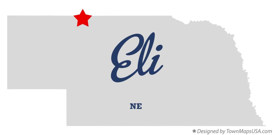 Map of Eli Nebraska NE
