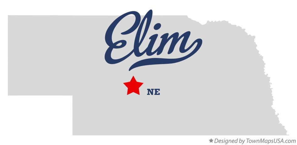 Map of Elim Nebraska NE