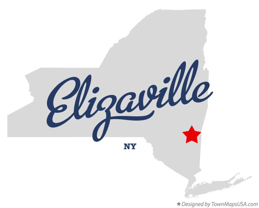Map of Elizaville New York NY