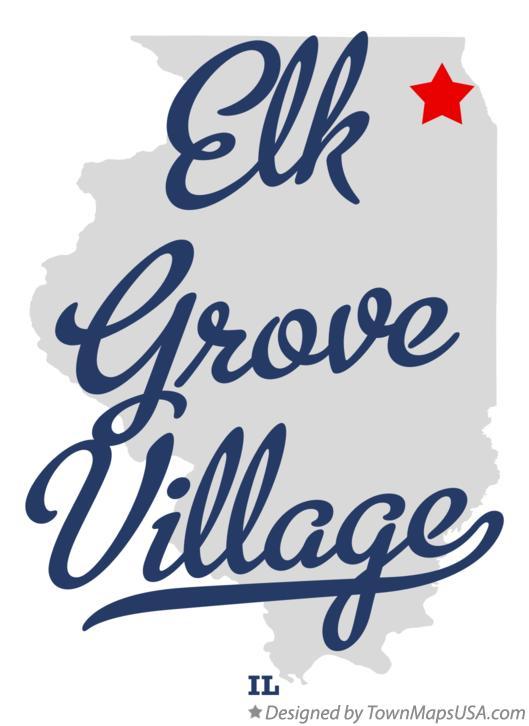 Map Of Elk Grove Village Il Illinois