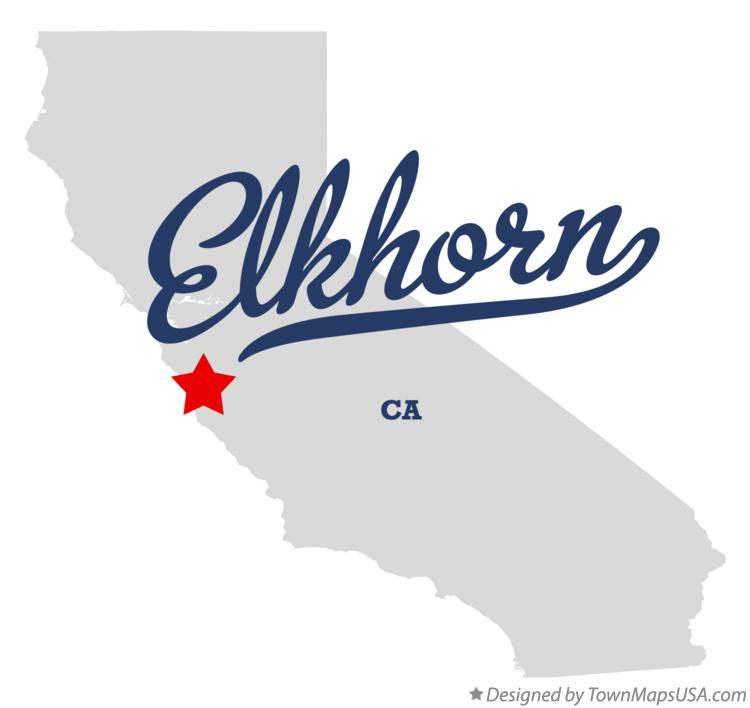 Map of Elkhorn California CA