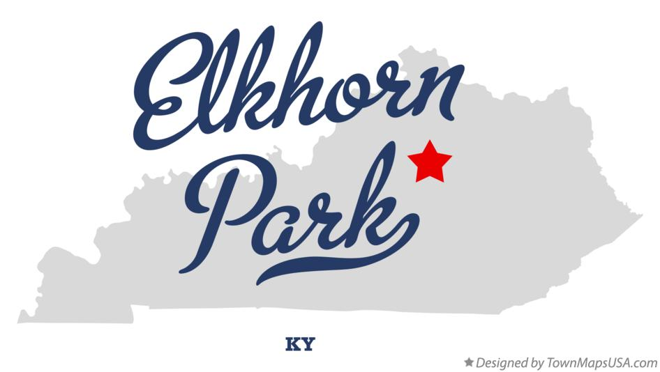 Map of Elkhorn Park Kentucky KY
