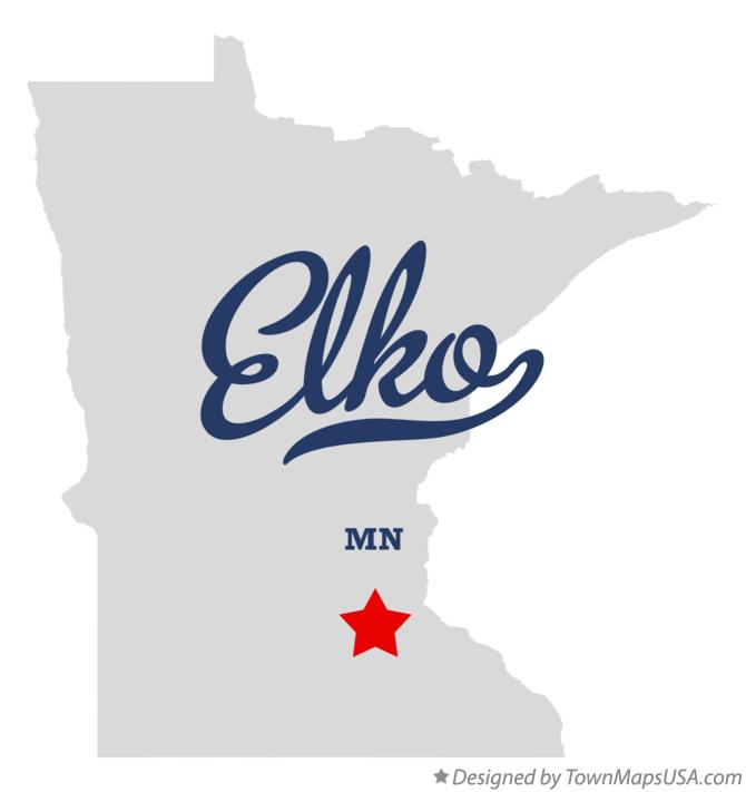 Map of Elko Minnesota MN