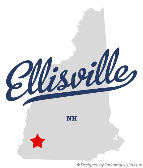 Map of Ellisville New Hampshire NH