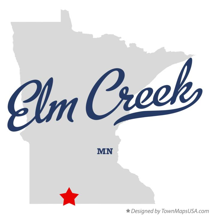 Map of Elm Creek Minnesota MN