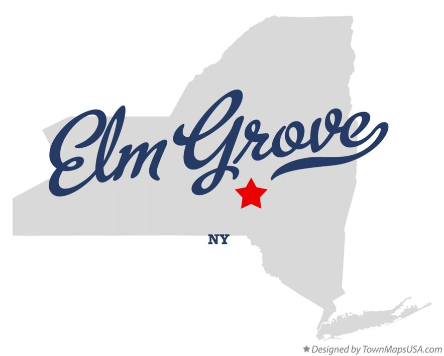 Map of Elm Grove New York NY