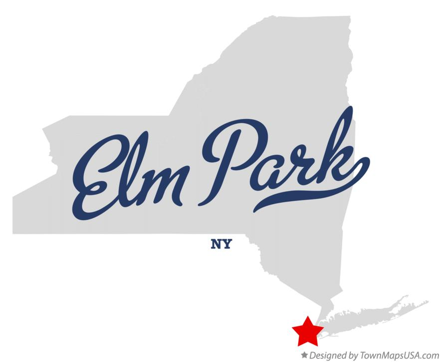 Map of Elm Park New York NY