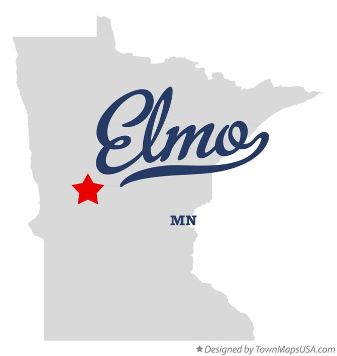 Map of Elmo Minnesota MN