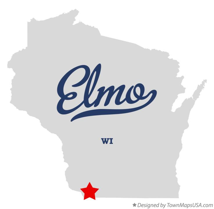 Map of Elmo Wisconsin WI