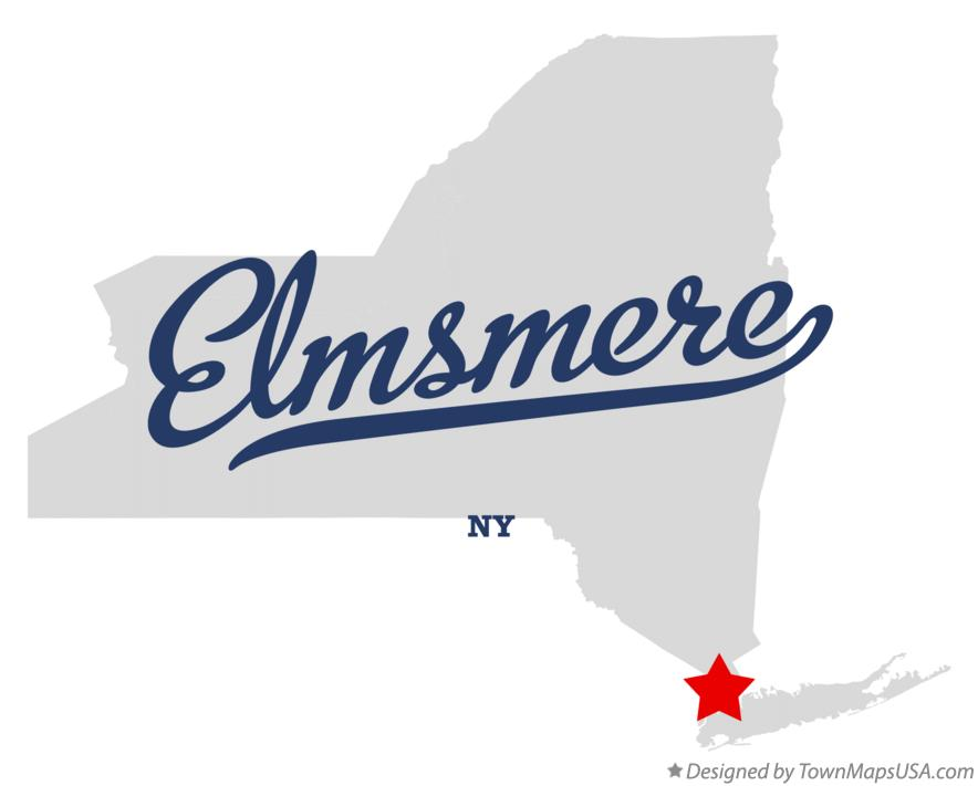 Map of Elmsmere New York NY