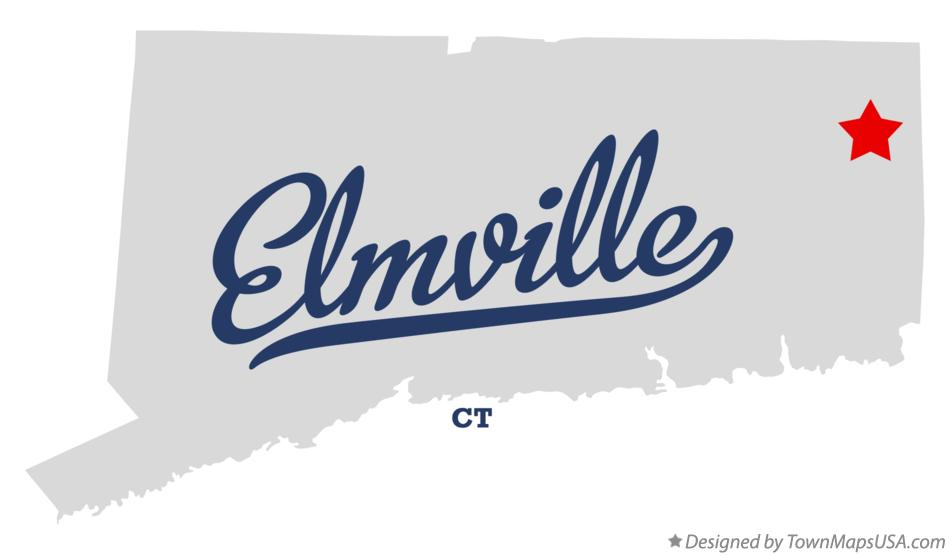 Map of Elmville Connecticut CT