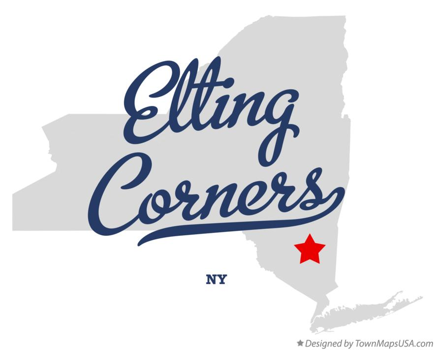 Map of Elting Corners New York NY