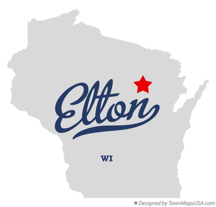 Map of Elton Wisconsin WI