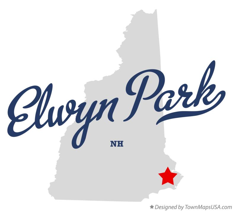 Map of Elwyn Park New Hampshire NH