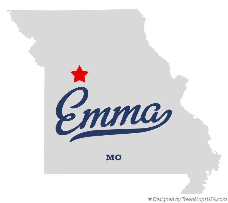 Map of Emma Missouri MO