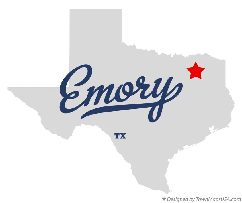 Emory (TX) United States  city photo : Map of Emory, TX, Texas