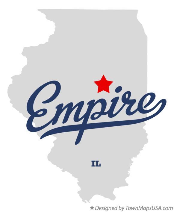 Map of Empire Illinois IL