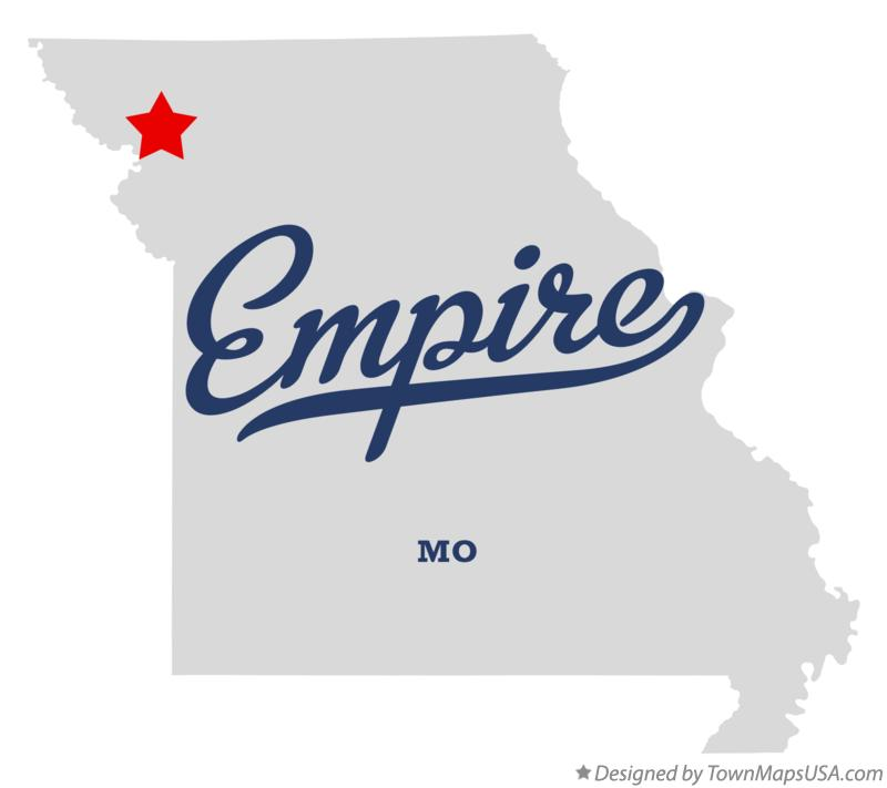 Map of Empire Missouri MO