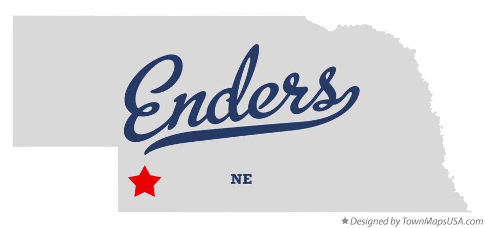 Map of Enders Nebraska NE