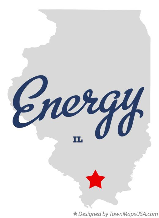 Map of Energy Illinois IL