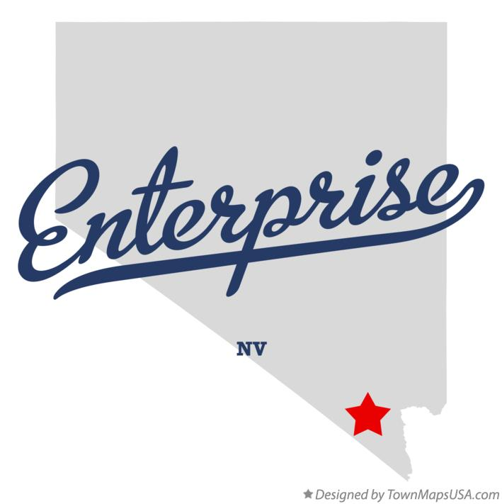 Map of Enterprise Nevada NV