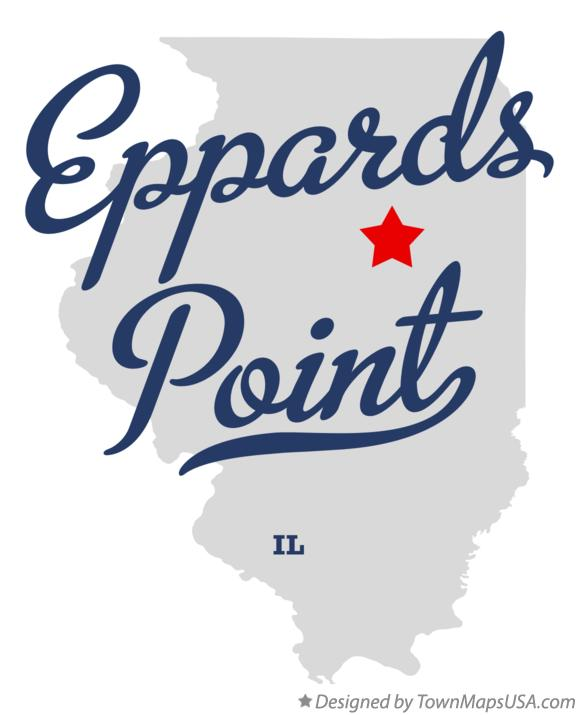 Map of Eppards Point Illinois IL