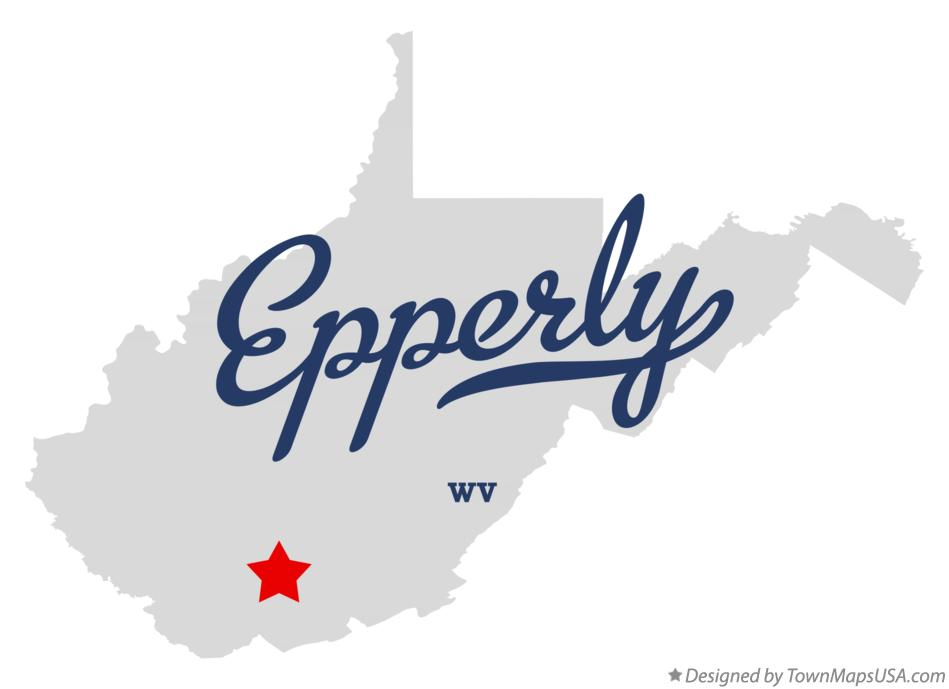Map of Epperly West Virginia WV