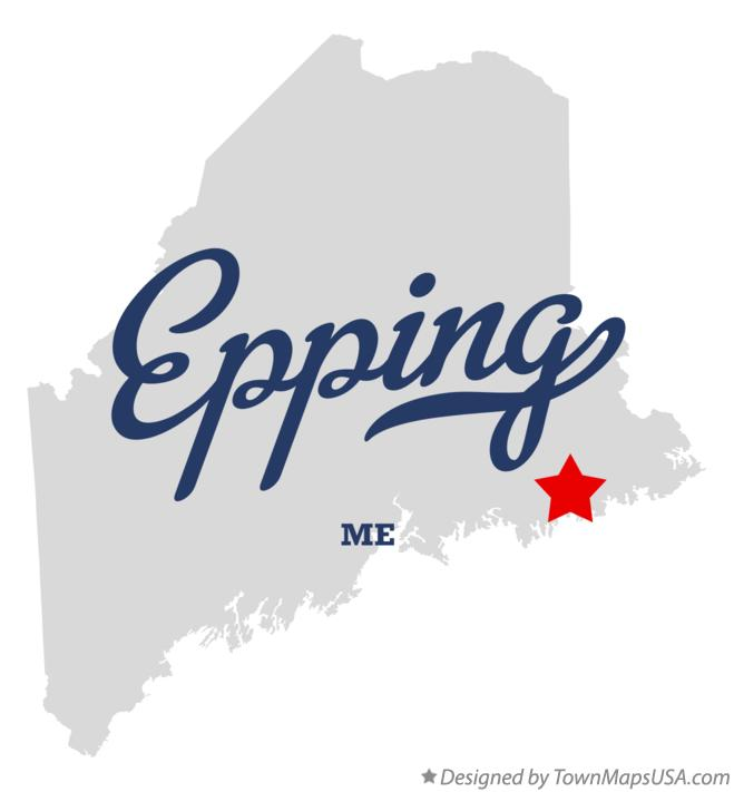 Map of Epping Maine ME