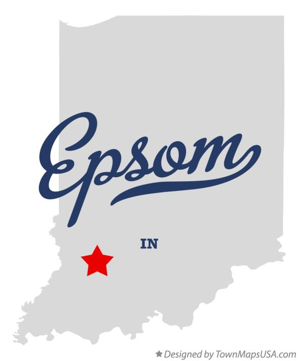 Map of Epsom Indiana IN