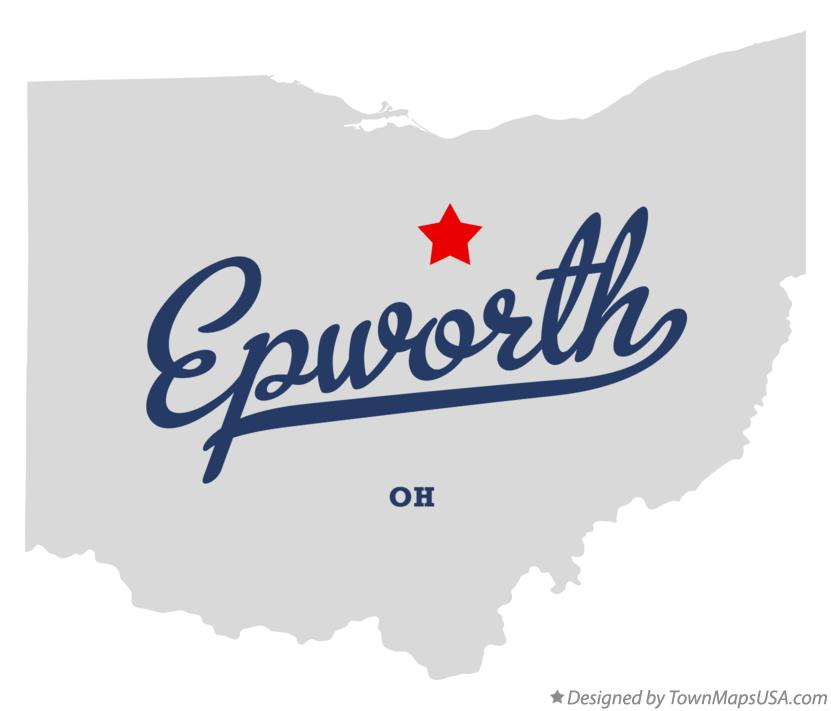 Map of Epworth Ohio OH
