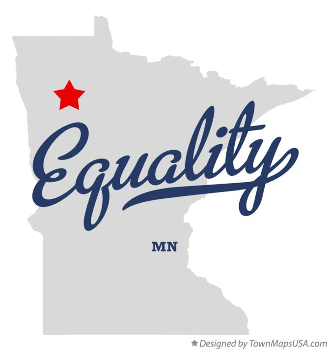 Map of Equality Minnesota MN