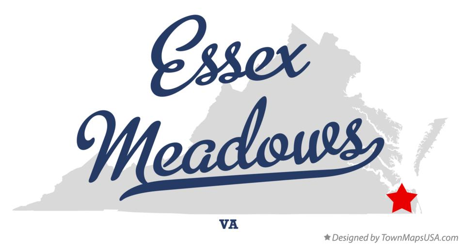 Map of Essex Meadows Virginia VA