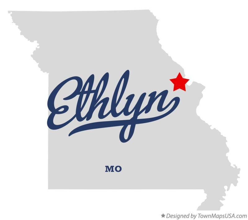 Map of Ethlyn Missouri MO
