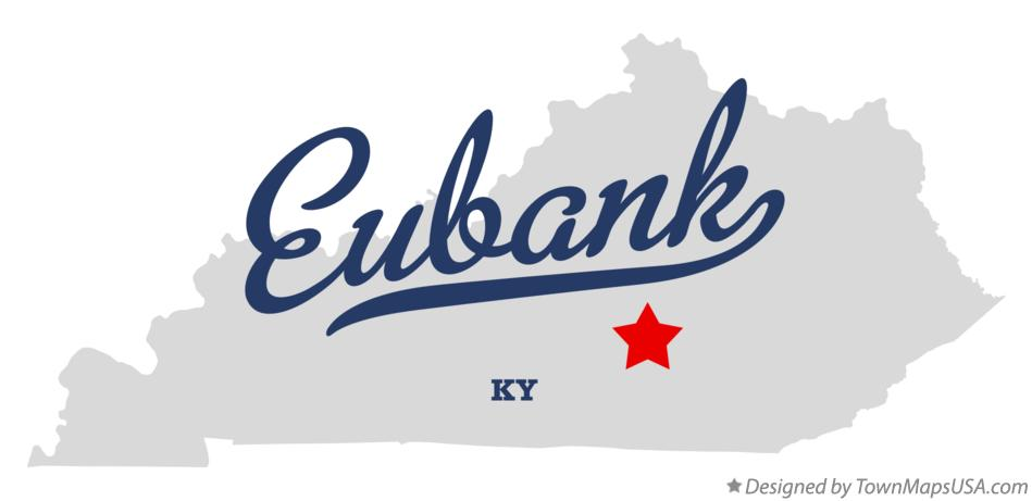 Map of Eubank Kentucky KY