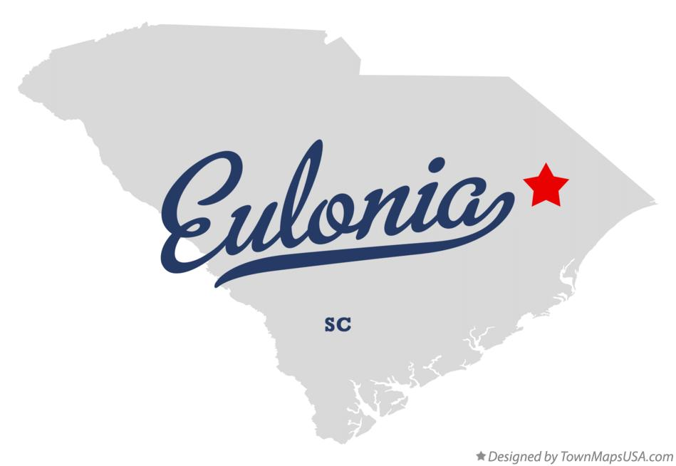 Map of Eulonia South Carolina SC