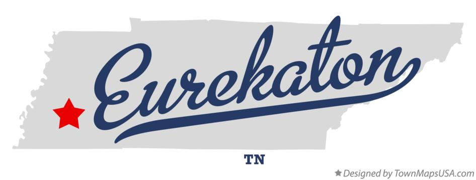Map of Eurekaton Tennessee TN
