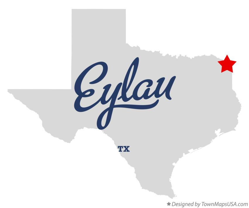 Map of Eylau Texas TX