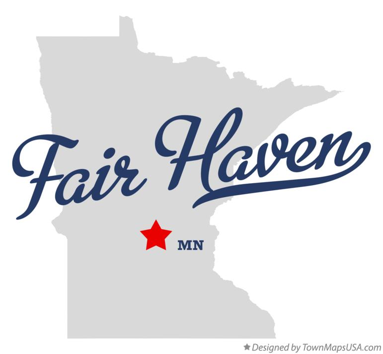 Map of Fair Haven Minnesota MN