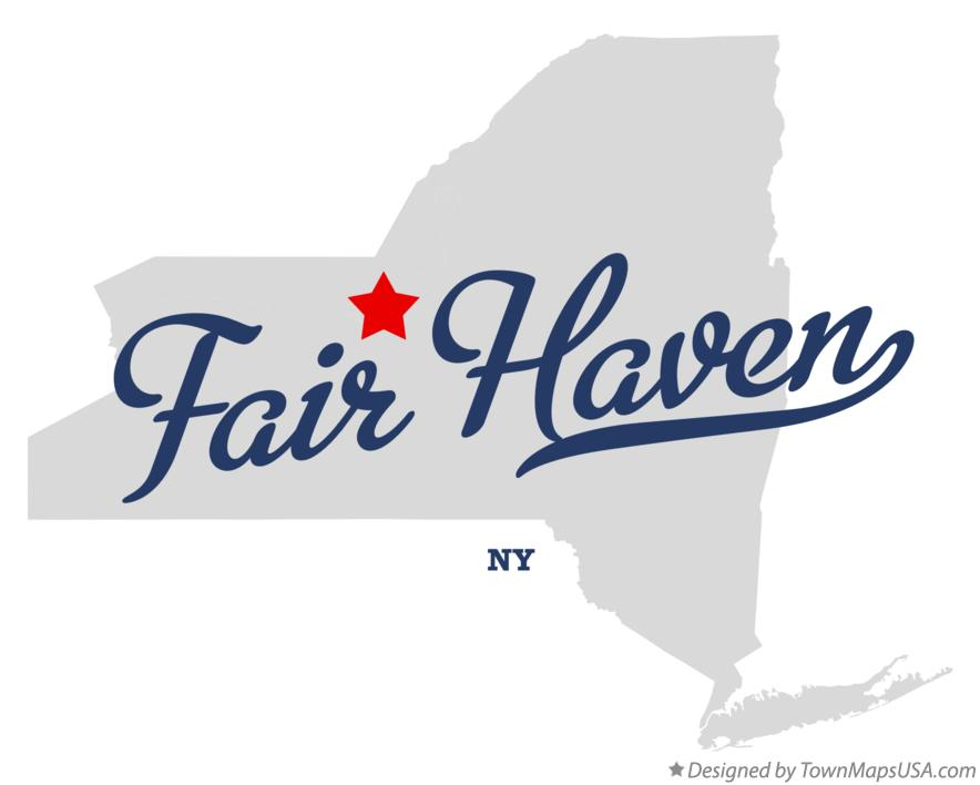 Map of Fair Haven New York NY